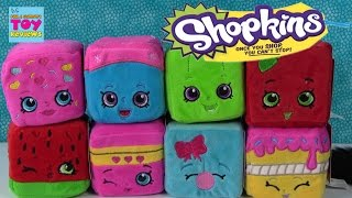 NEW Cuddle Cubes Shopkins Plush Stackable Fun Toy Review | PSToyReviews