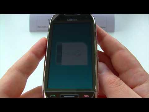 Nokia C7, C7-00 Unlock & input / enter code.AVI