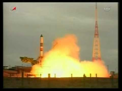Progress M-07M (39) supply ship launch to the space station on a Soyuz rocket