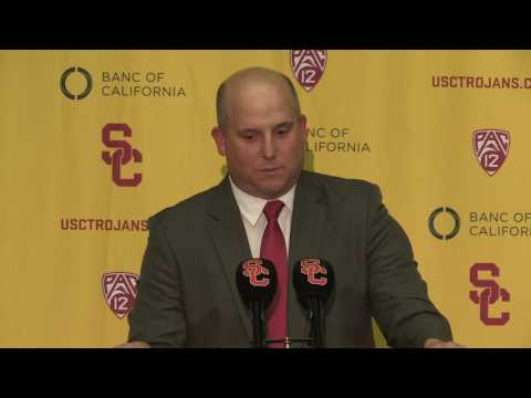 USC Football - Clay Helton: 2017 Signing Day Presser