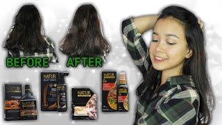 Tutorial Perawatan Rambut Sendiri Untuk Masalah Rambut Rontok! | Natur HairCare | Primadita R