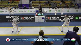 Wuxi 2018 Fencing World Championships ws team t16 JPN vs HUN AND POL vs UKR