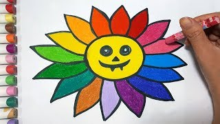 How To Draw A Flower Hallowen    Draw For Kids