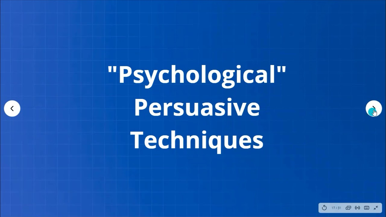 Conclusion and Persuasive Language-Flipped