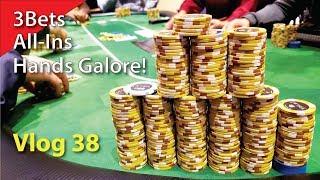 Hands Galore! – Poker Vlog 38