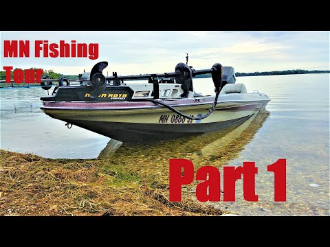 2019 MN Fishing Trip/Tour Part 1