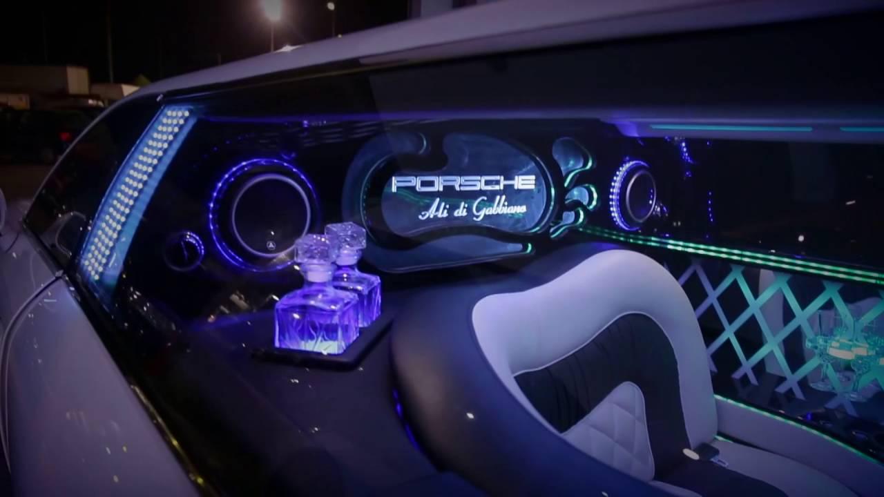 Limousine Porsche Panamera Ali Di Gabbiano Youtube