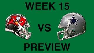 Dallas Cowboys vs Tampa Bay Buccaneers Preview