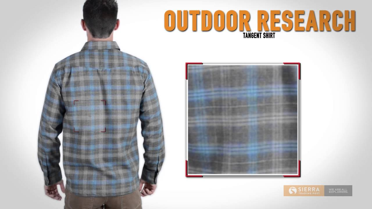 Outdoor research tangent shirt long sleeve for men for Exterior research and design