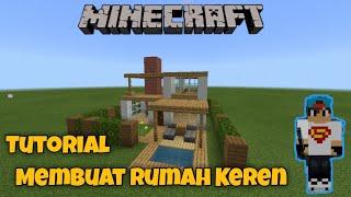 Tutorial Membuat Rumah Keren Di Minecraft  || Minecraft Tutorial