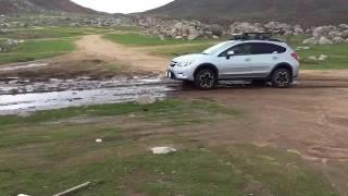 2 Inch Lifted Subaru Crosstrek In Mud