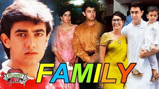 Aamir Khan Family With Parents, Wife, Son, Daughter, Brother & Sister