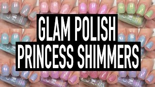Glam Polish - Princess Shimmers | Swatch & Review