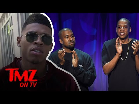 Who should kiss the ring, Jay–Z or Kanye? | TMZ TV