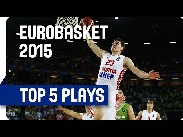 Γιάννης Αντετοκούνμπο | Στο Top 5 της 1ης ημέρας του Ευρωμπάσκετ 2015