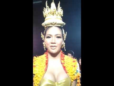 Chalita Yaemwannang Miss universe Thailand 2013 Say Hi The