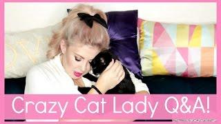 CRAZY CAT LADY!!!!!