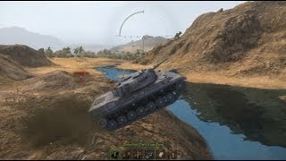 World of Tanks - Flying, Drifting and Crashing