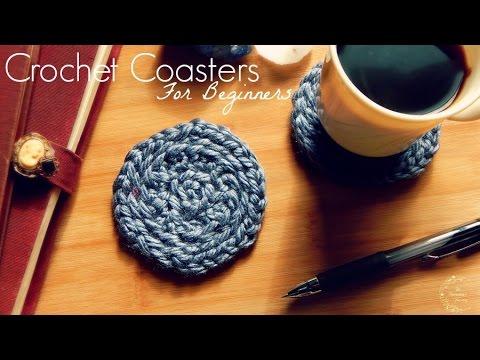 Diy Crochet Coasters Crochet Pattern For Beginners The Sweetest