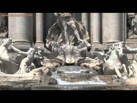 Trevi Fountain, Rome, Italy, Collage Video - youtube.com/tanvideo11