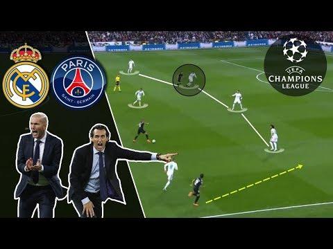 Zidane VS Emery | Real Madrid-PSG 1st leg Tactical Analysis 2/2 (REUPLOAD)