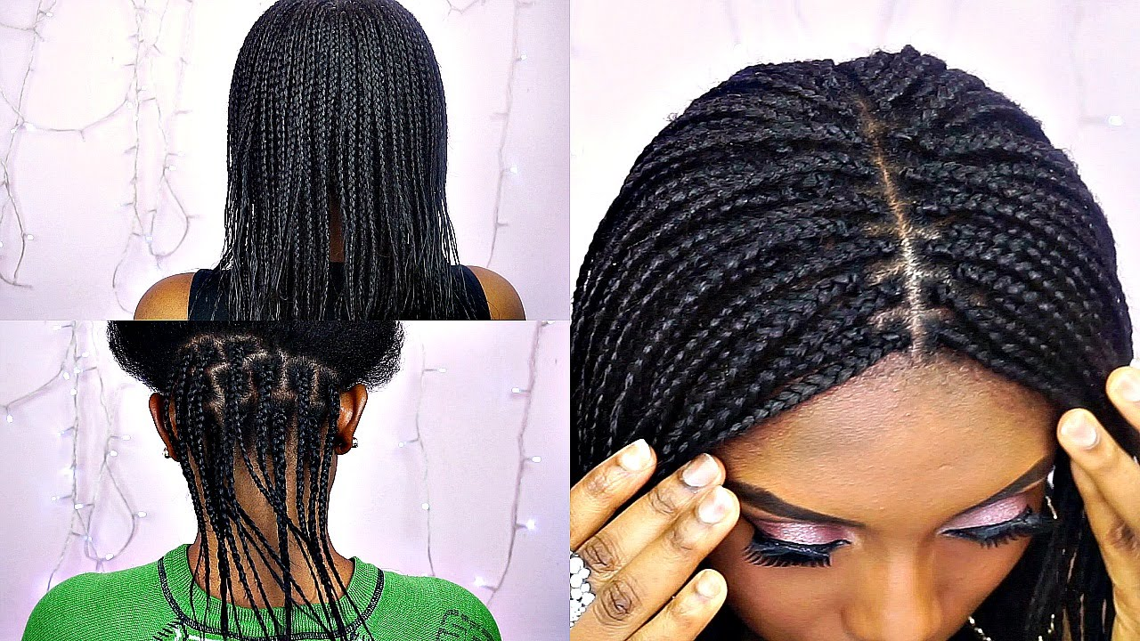 How To Box Braids With Feathers Tips Tutorial