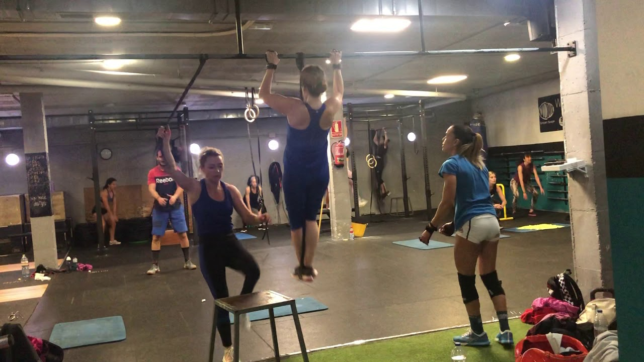 MUSCLE UP CINDY - Crossfit Workout - YouTube |Cindy Crossfit