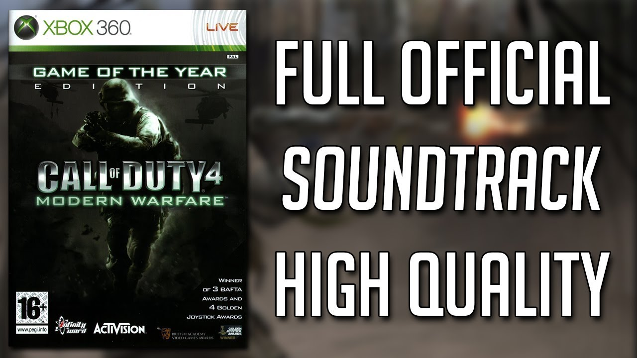 Call Of Duty 4: Modern Warfare | Full (Official) Soundtrack OST #1
