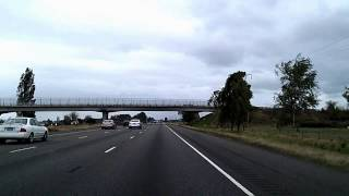 TimeLapse Drive from Portland to Salem Oregon: I-5, 99E, 22 Dashcam