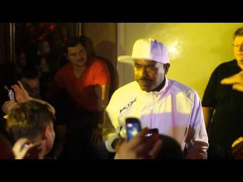 Oldschool Baby mit Kurtis Blow & DJ Tomekk live im Zauberberg Würzburg | Video by André B. Markert