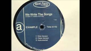 00 Example We write the songs (2000)