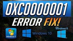Fix Blue Screen Error 0xc0000001 in Windows 10,8,7 - [2019 Solution]