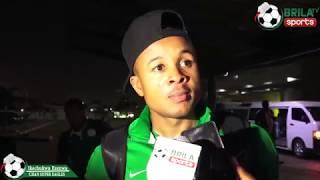 CHAN EAGLES ARRIVES NIGERIA