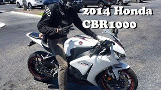 MotoVlog : 2014 CBR1000 TEST RIDE