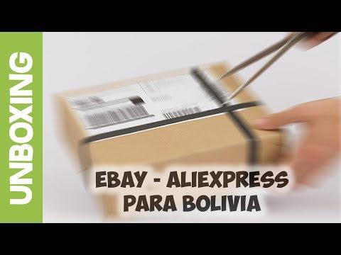 Unboxing - Pedidos en Ebay y Aliexpress en Bolivia - Compras por Internet