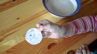как сделать наклейку из скотча