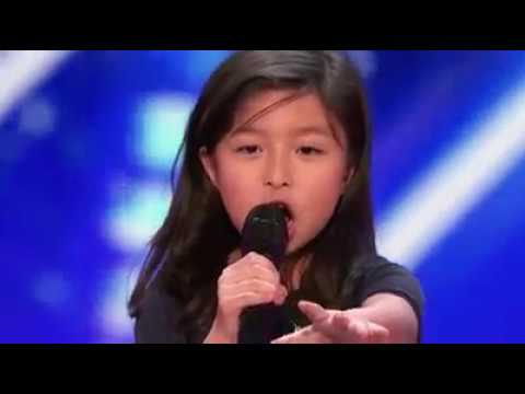 The most adorable singer takes on the biggest song