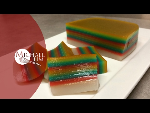 Kueh Lapis (Singapore favourite 9 layers steamed cake)