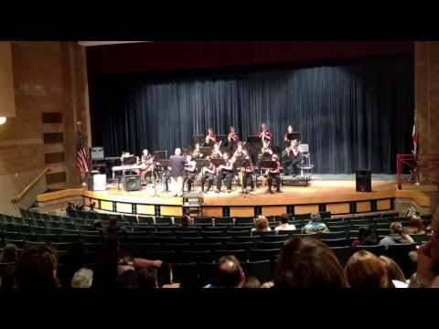 Horizon Middle School Jazz Band performing Linus and Lucy by Vince Guarldi