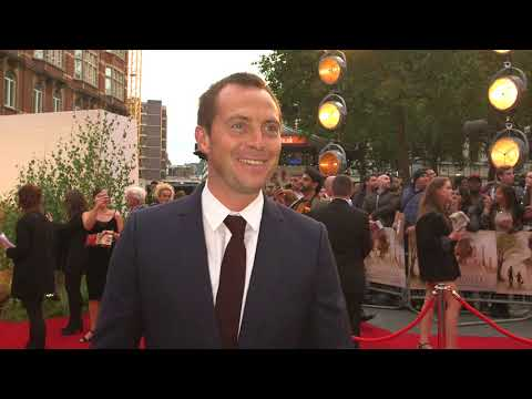 Goodbye Christopher Robin UK Premiere  Itw Stephen Campbell Moore  video