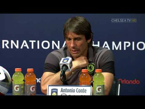 Chelsea v Liverpool Antonio Conte's post match press conference