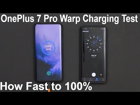 OnePlus 7 Pro Warp Charging Speed Test How Fast From 1% All The Way To 100%