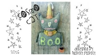 How To Make Primitive Dolls ~ Aging Painted Fabric