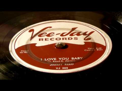 I Love You Baby - Jimmy Reed (Vee Jay)