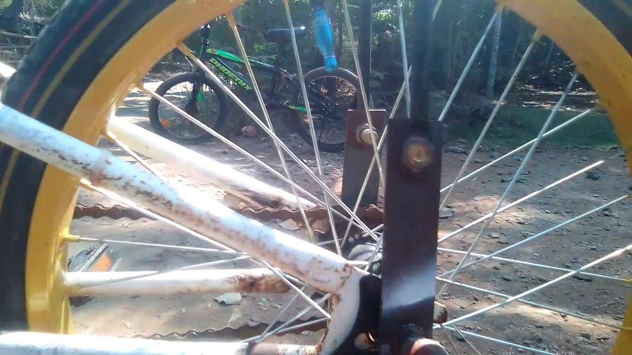 Cara Membuat Drag Dari Sepeda Youtube