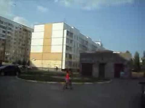 г. Ульяновск, ул Отрадная 79, панорама торец объекта и микрорайон