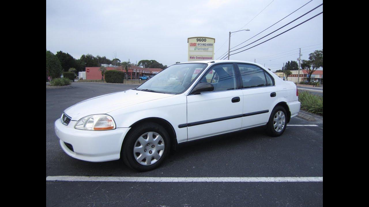 Attractive SOLD 1998 Honda Civic LX Sedan 119K Miles Meticulous Motors Inc Florida For  Sale
