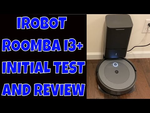 iRobot Roomba i3+ Robot Vacuum w/ self empty bin - Initial TEST + REVIEW Does it compare to the i7+