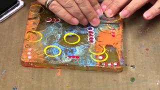 Gelli  Plate  Packing  Tape  Transfer  Technique by Michelle McCosh