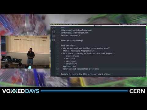 Reactive Programming in Java by Venkat Subramaniam